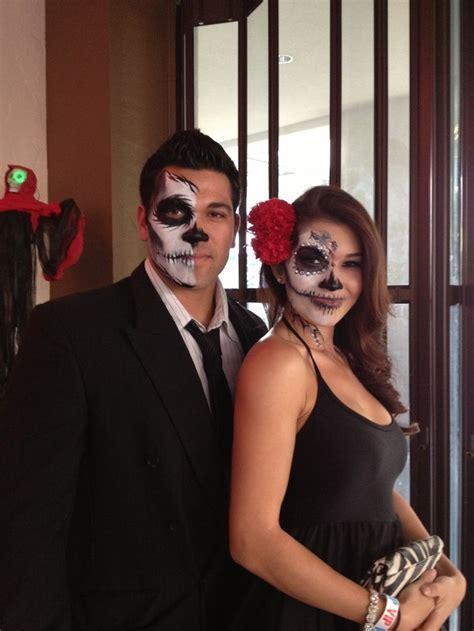 easy  cool halloween makeup  couples amazing