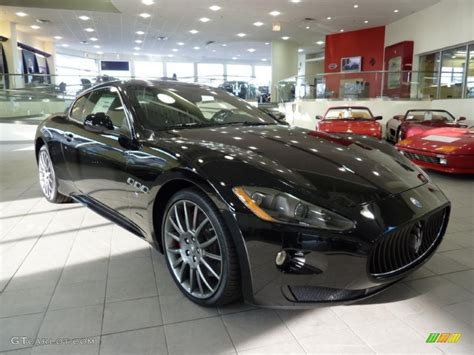 black maserati cars 2010 nero black maserati granturismo s 26307248 photo