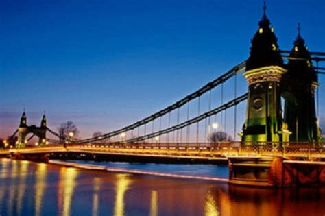 Listed: the magnificent seven Thames bridges   London