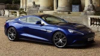 Blue Aston Martin Vanquish Aston Martin Vanquish Blue Wallpaper