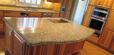 Kitchen Island With Granite Countertop by Granite Kitchen Countertop Amp Island Crafted Countertops