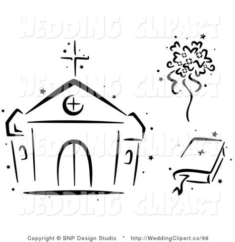 Wedding Bible Clipart by Church Clipart Pencil And In Color Church