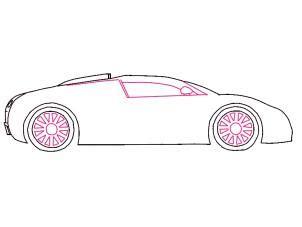 Auto Malen Leicht Gemacht by Bugatti Veyron Zeichnen Lernen Schritt F 252 R Schritt