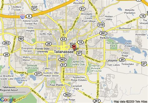 tallahassee florida on map map of comfort suites tallahassee tallahassee
