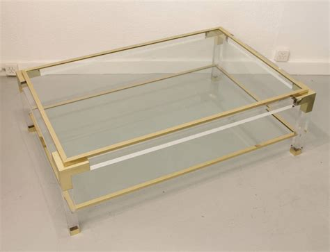 vintage glass coffee table coffee table contemporary design vintage glass coffee