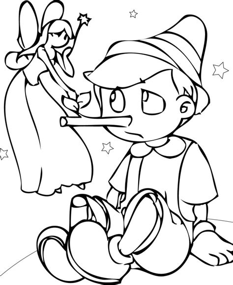 pinocchio coloring page az coloring pages