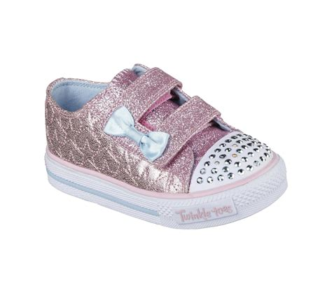 skechers toddler shoes skechers toddler s twinkle toes shuffles starlight