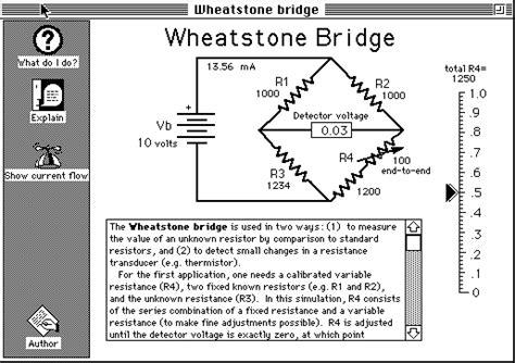 wheatstone bridge principle and its applications wheatstone bridge