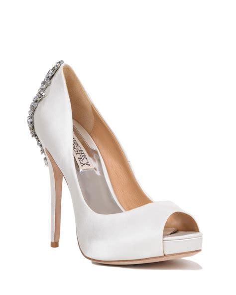 Where To Shop For Bridal Shoes by Badgley Mischka Kiara White