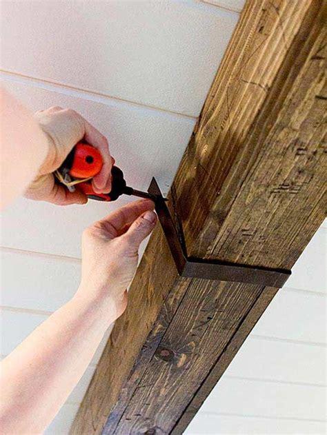 rustic wood beams design ideas