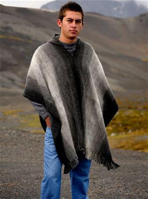 mens poncho knitting pattern poncho fashion for s