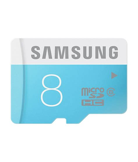 Micro Sd Card Samsung samsung microsdhc 8 gb class 6 buy 289 snapdeal