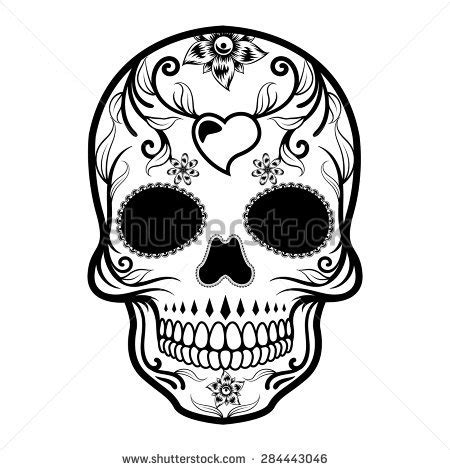 Calavera Stock Photos Images Pictures Shutterstock Day Of The Dead Skull Vector