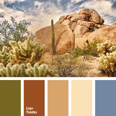 desert colors olive green color palette ideas