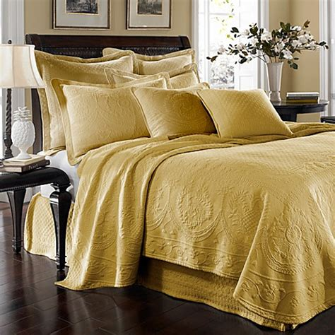 king coverlets king charles matelasse coverlet in sunshine bed bath