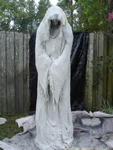 Ghost Decorations For Halloween A Monster Mud Reaper About 5 5 Quot Tall Use A Schedule 40 1