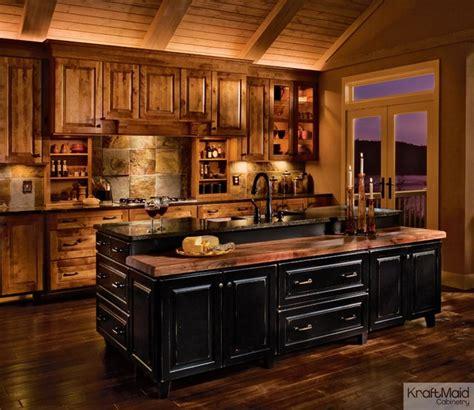 rustic birch kitchen cabinets kraftmaid rustic birch in praline cherry in vintage