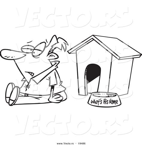 dog house sitters free coloring pages of doghouse