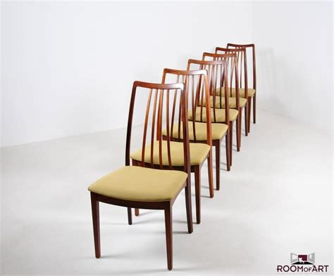 dining room chairs set of 6 set of six palisander dining chairs room of art