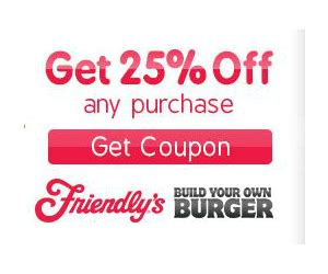Friendlys Gift Card - friendly s coupon for 25 off entire bill printable coupons