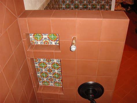 mexican bathtub gerona mexican tile used in a niche inside a bathroom