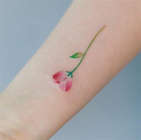 little flower tattoos 40 ideas for tattooblend