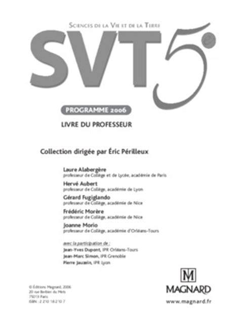 Livre Du Professeur Francais 4eme Texto College Listes Des