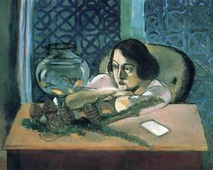Picasso Woman In An Armchair Woman Before A Fish Bowl 1922 Henri Matisse Wikiart Org