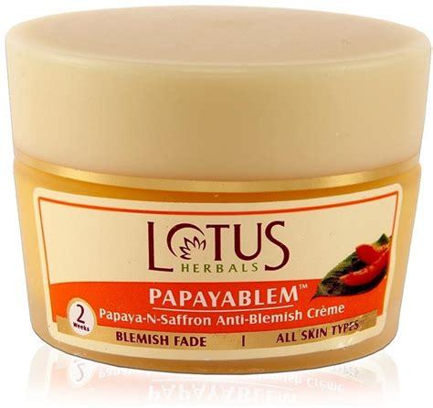 tattoo off cream price in india lotus papayablem papaya n saffron anti blemish creme