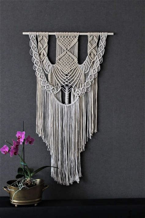 Unique Macrame Patterns - 17 best ideas about macrame wall hangings on