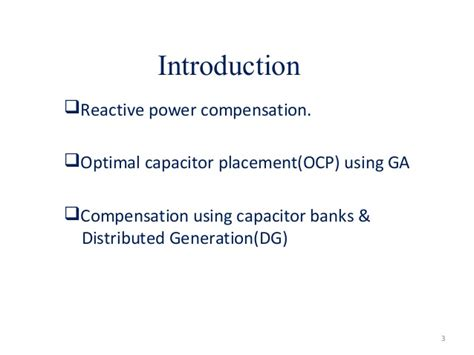 capacitor based problems optimal capacitor bank placement 28 images optimal placement and sizing of capacitor banks