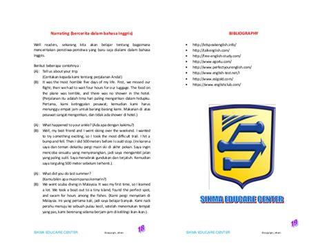 biography bahasa inggris modul bahasa inggris conversation elementary