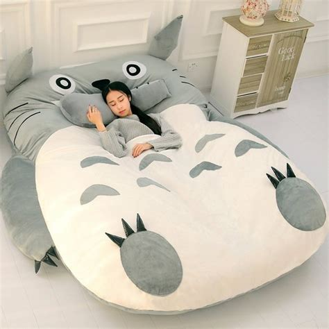 totoro futon chinese chinchilla bed which looks uncannily like