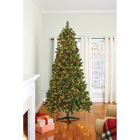 home and gardens prelit trees better homes and gardens pre lit 7 5 hammond artificial tree clear lights walmart