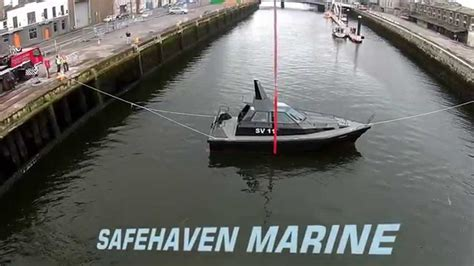 rib boat unsinkable self righting capsize recovery test of barracuda by her