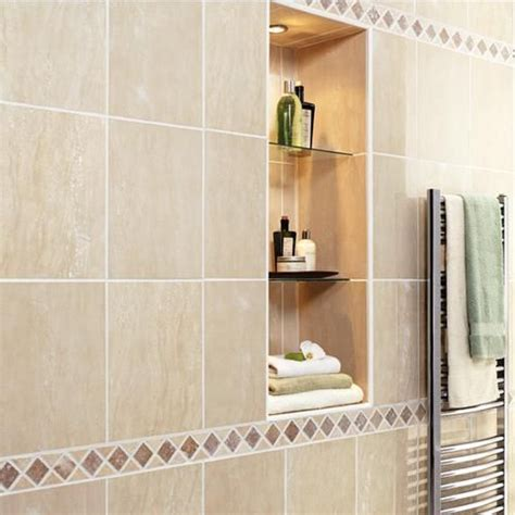 bathroom borders ideas tile border home bathroom ideas