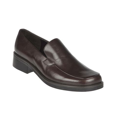 franco sarto loafers franco sarto bocca loafers in brown caffee lyst