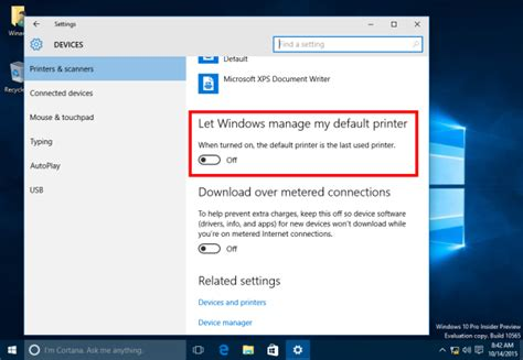 reset all printer settings windows 7 how to stop windows 10 from changing the default printer