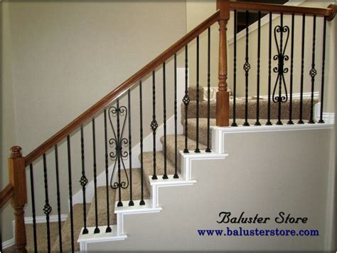 Decorative Wood Railing by 1000 Ideas About Iron Balusters On Cable Railing Systems Wood Handrail And Stairways