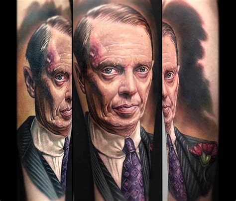 paul acker tattoo nucky thompson portrait by paul acker no 20