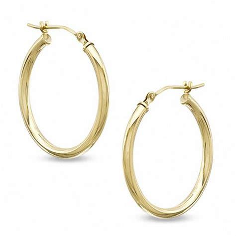 23mm hoop earrings in 14k gold gold earrings earrings