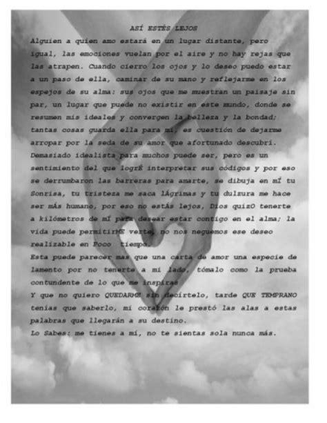 imagenes de amor para alguien q esta lejos cartas de amor