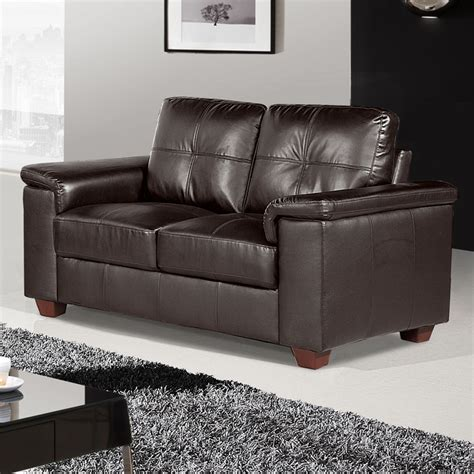 2 seater dark brown leather sofa windsor dark brown leather sofa collection