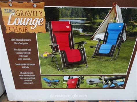 Zero Gravity Recliner Costco by Timber Ridge Zero Gravity Lounge Chair