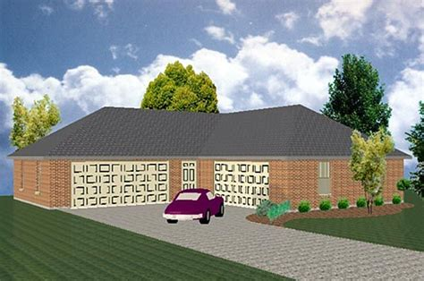 l shaped garages l shaped can hold 4 6 cars garage plan chp 39956 at
