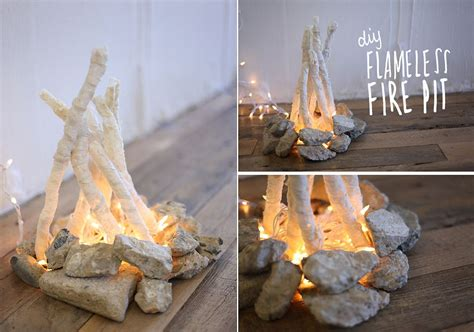 flameless pit a cozy dreamy winter affordable and easy to build diy pits decor advisor