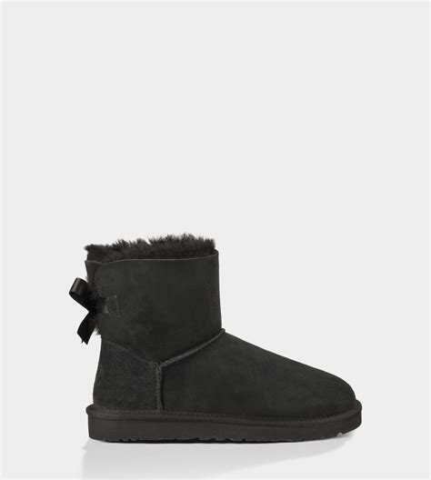 Ugg Bailey Bow Boots 3280 Black Cheap P 2017 And And Ugg Shoes Sale In Uk At Low Price