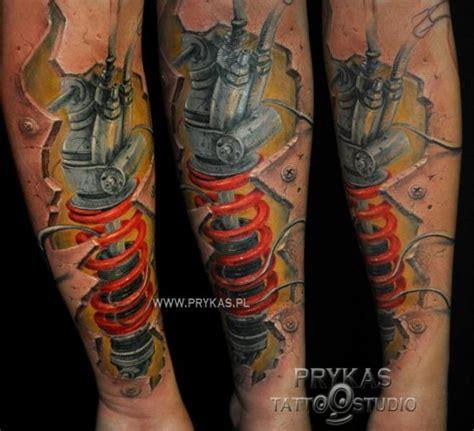 tattoo 3d brazo tatuaje brazo biomec 225 nica 3d por prykas tattoo