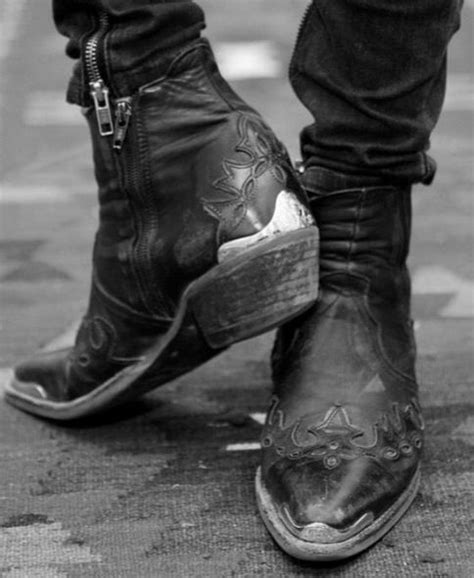 rock n roll boots for rock n roll style vintage western cowboy
