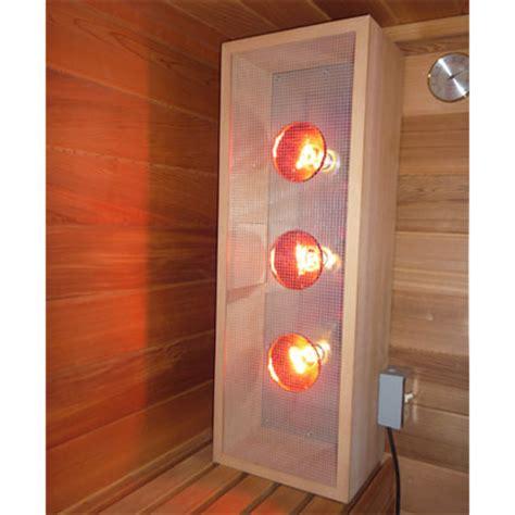 near infrared light bulbs home infrared sauna light box vertical emits near middle and